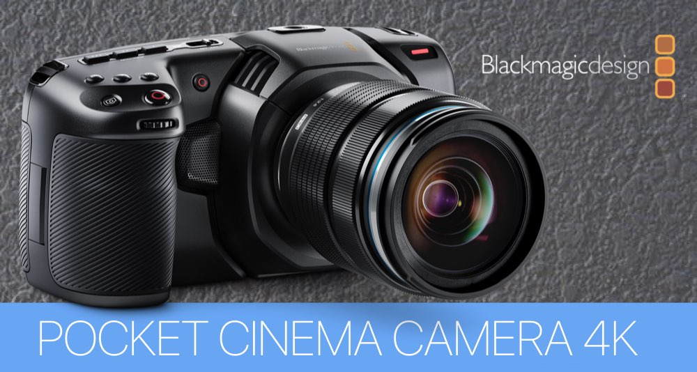ГАЛЕРЕЯ ПРОЕКТОВ BLACKMAGIC POCKET CINEMA CAMERA 4K