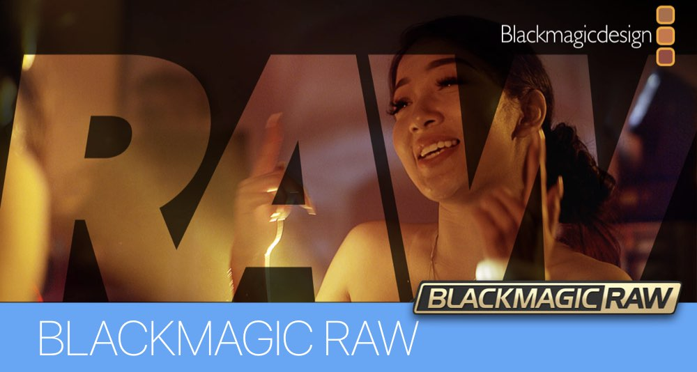 BLACKMAGIC RAW - НОВОСТЬ IBC 2018