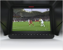 Описание: 10 inch full hd viewfinder on the Blackmagic Studio Camera