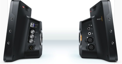 Описание: left and right views of the Blackmagic Studio Camera