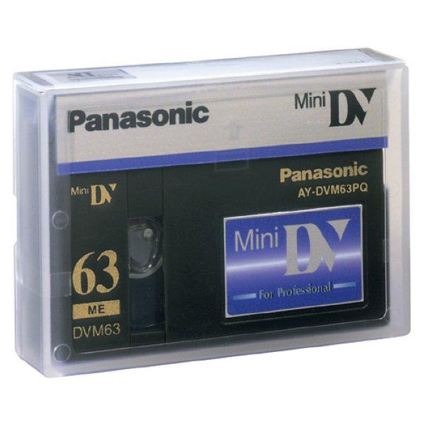 AY-DVM63PQ - видеокассета miniDV, 63 min, профессиональная  Panasonic - DV