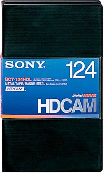 Sony BCT124HDL Видеокассета - HDCAM