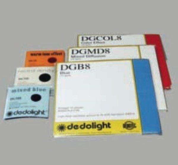 Dedolight DGCOL - набор пленочных фильтров 76x76 мм, 36 шт, цветовые эффектные - Dedolight