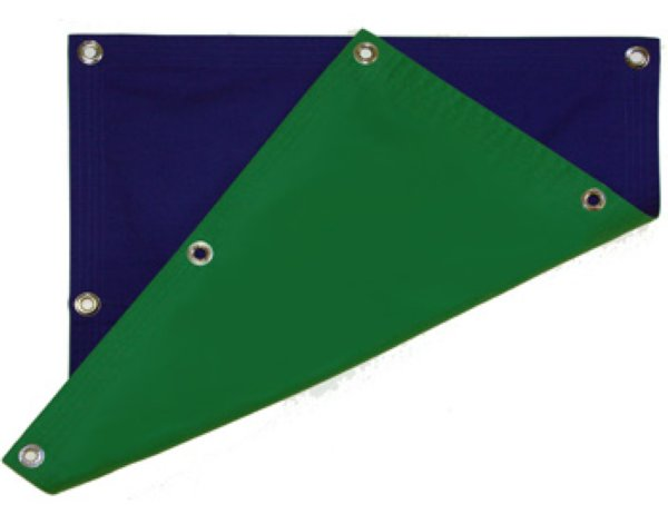 Cinematone BG150200 x2 Blue Green 1,50 x 2,00 m - рир-полотно - Cinematone