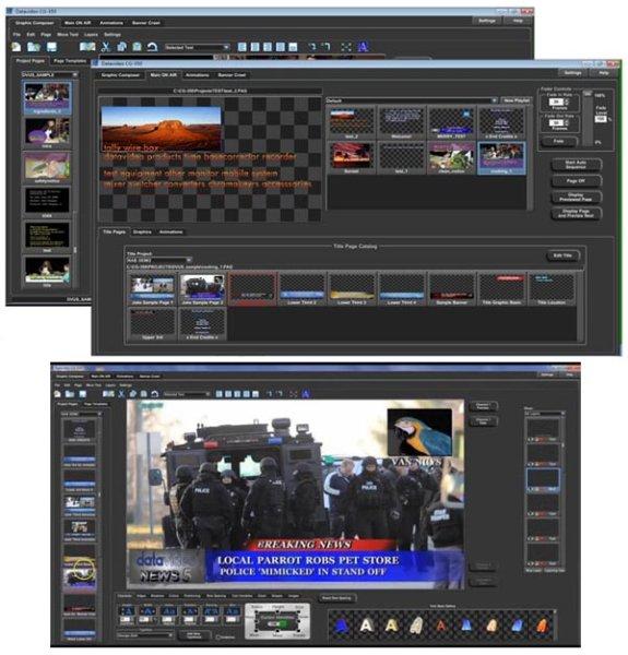 CG-350 - Программа титрования datavideo - Datavideo