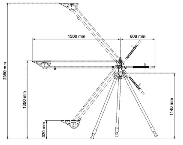 DSLR Light-Jib - кран для DSLR ABC Products - ABC