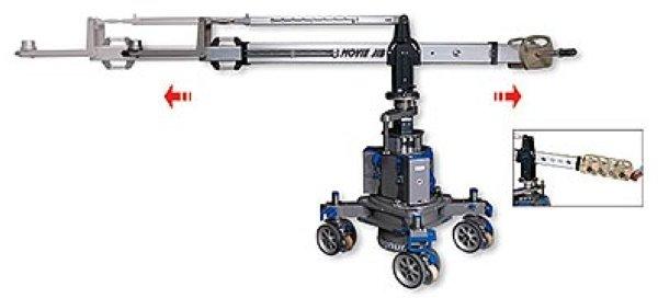 ABC Products Movie Jib - кран для кино Movie Jib - кран для съемки камерами с большым весом и большим количеством дополнительного оборудования, Легко и быстро изменяется длинна стрелки, кран адаптируе