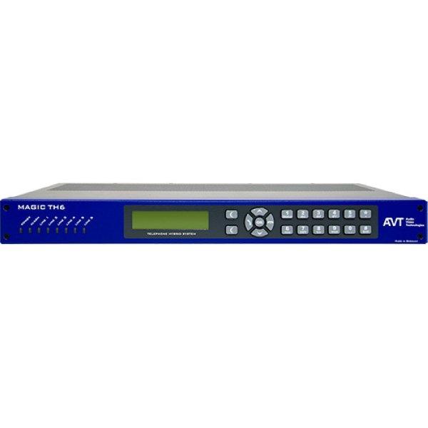 AVT MAGIC TH6 Телефонный гибрид Телефонный гибрид MAGIC TH6 может быть подключен к шести линиям разных типов телефонной аналоговой и цифровой связи: POTS, ISDN и IP. Имеет  - 801050