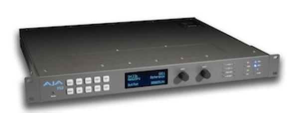 Aja Конвертор AJA FS2 AJA FS2 – двухканальный универсальный HD SD- аудио видео-фрейм-синхронизатор и конвертер.  Уже известное решение FS1