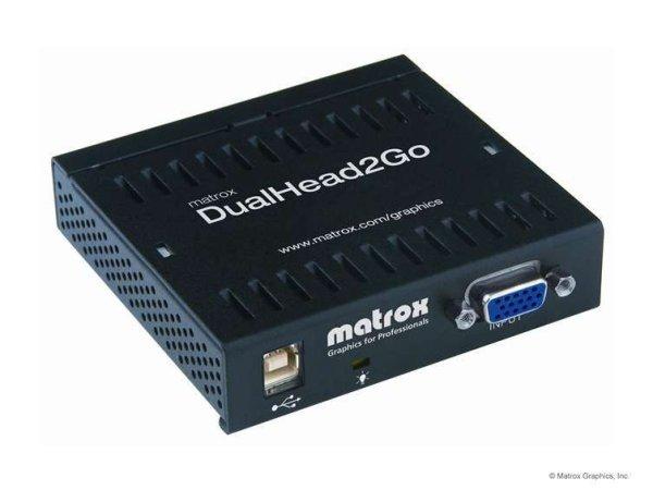 DualHead2Go Analog Edition Matrox - Модули расширения (DualHead2Go & TripleHead2Go)