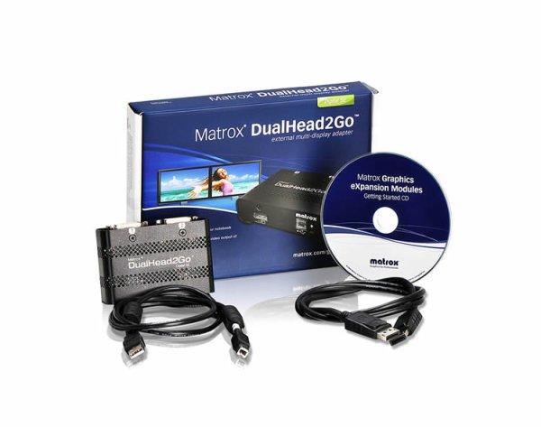 DualHead2Go Digital SE Matrox - Модули расширения (DualHead2Go & TripleHead2Go)