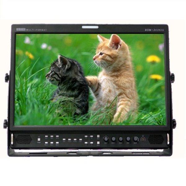 Bon BSM-243N3G- монитор 24    Multi-Format, 10-bit Video Processing Monitors  24  монитор вещания, который принимает сигнал 3G SDI.