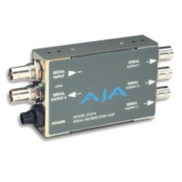 D5DA мультиформатный, 1х4 переключаемый SDI усилитель-распределитель - AJA