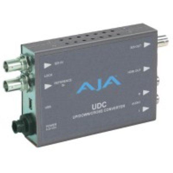 UDC Повышающий понижающий кросс-мини-конвертер Повышающий понижающий кросс-конвертер UDC – это миниатюрный повышающий понижающий кросс-конвертер вещательного качества, позволяющий преобра - UDC