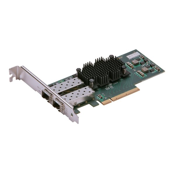Atto FastFrame NS12 10GbE SFP+ Optical - 10GbE and 10GBASE-T Network Interface Cards-(NICs