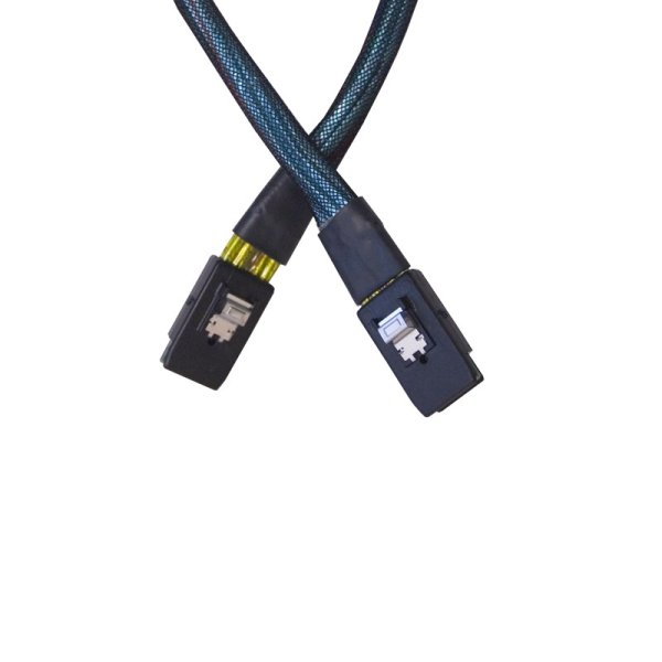 Atto Cable, SAS, Internal, SFF-8087 to 8087, .5 m Youre working in a high-performance environment with state-of-the-art computer components - you need to trust that your cables are reliable - CBL-8087
