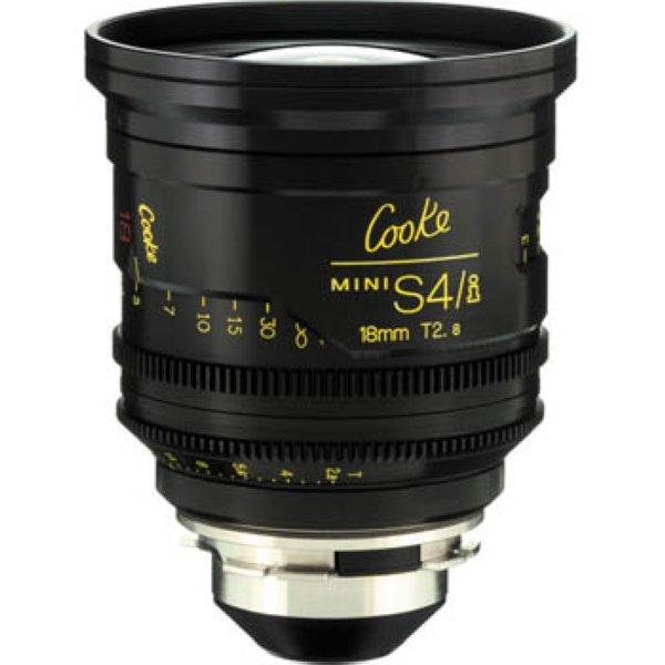 mini S4 i 18 T2.8 объектив Cooke - Cooke