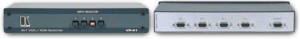 VP-41 коммутатор Kramer - 2.05 RGB/S/HV, VGA/XGA/SXGA, DVI и т.д. и Аудио
