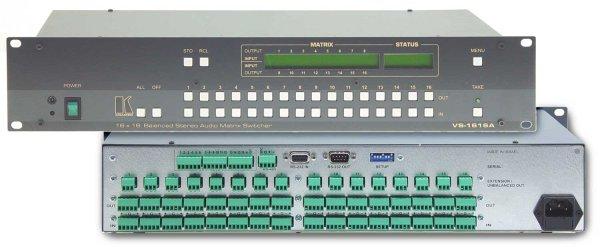 VS-1616A матрица Kramer - 2.01 Видео и Аудио (AV)