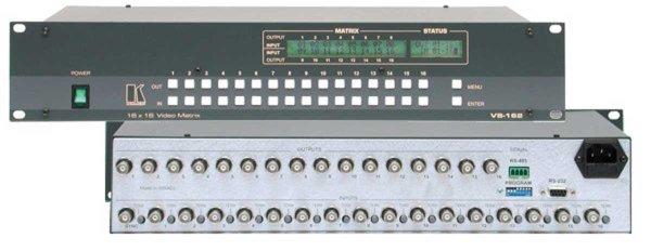 VS-162V, матрица Kramer - 2.01 Матричные коммутаторы CV, YC и Аудио (AV)