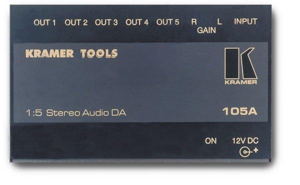 105A, усилитель распределитель Kramer - 1.09 Аудио