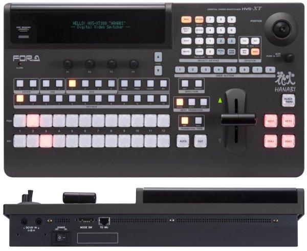 HVS-XT100+HVS-XT100OU SD HD цифровой видео микшер с контрольной панелью For-A - FOR-A