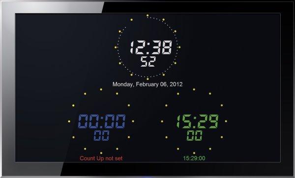 On Air Clock - програмное обеспечение для студийных часов Axel - Axel Technology