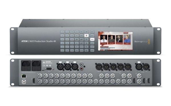 ATEM 2 M E Production Studio 4K микшер Blackmagic Design - Эфирные видеомикшеры ATEM