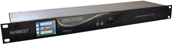 Портативный передатчик AVIWEST DMNG RACK100 1U для потокового видео в прямом эфире