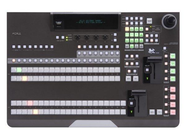 HVS-350HS 2M E TYPE A1 1.5 M E HD SD цифровой мультиформатный видео микшер (3U) с панелью управления HVS-35OU For-A - FOR-A