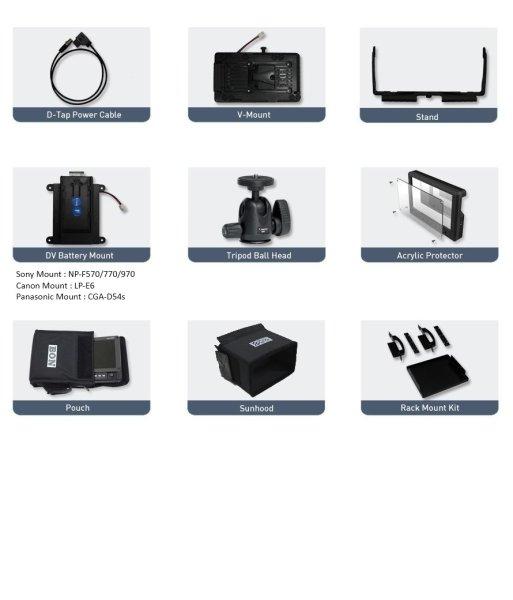 Bon BEM-072- монитор 7  7-дюймовый портативный накамерный видеомонитор