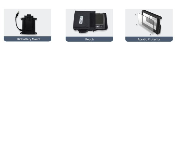 Bon FM-055F - монитор 5  5  портативный накамерный монитор с разрешением 800 x 480.