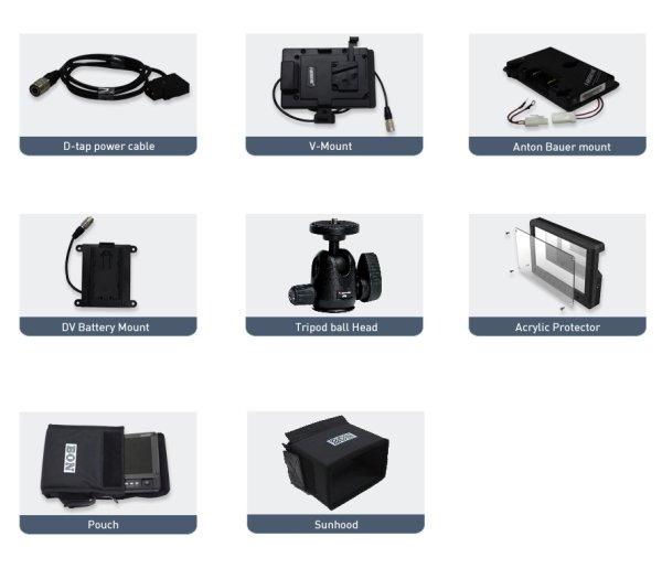 Bon RM-072 - монитор 7  7  мультиформатный портативный монитор