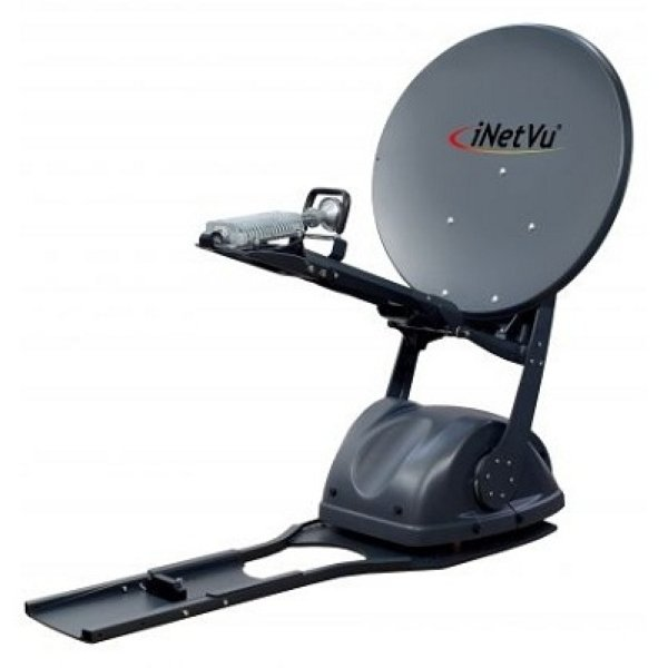 C-COM iNetVu Ka-75V Моторизираванная спутниковая антенна 75 см. (устанавливается на автомобиль) Моторизираванная спутниковая антенна 75 см. в диаметре, Ka-диапазона. Способ установки - крепление на кр