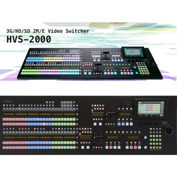HVS-2000 3G HD SD 2M E цифровой мультиформатный видео микшер с 24 кнопочной панелью управления HVS-2244OU For-A - FOR-A