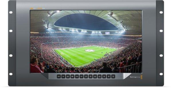 Blackmagic Design видео монитор SmartView 4K 2 позволяет мониторить сигнал в Ultra HD и 12G-SDI. Хорош как для студии, так и для монтажа его в стойки в ПТС и других мобильных решениях для выездных съе