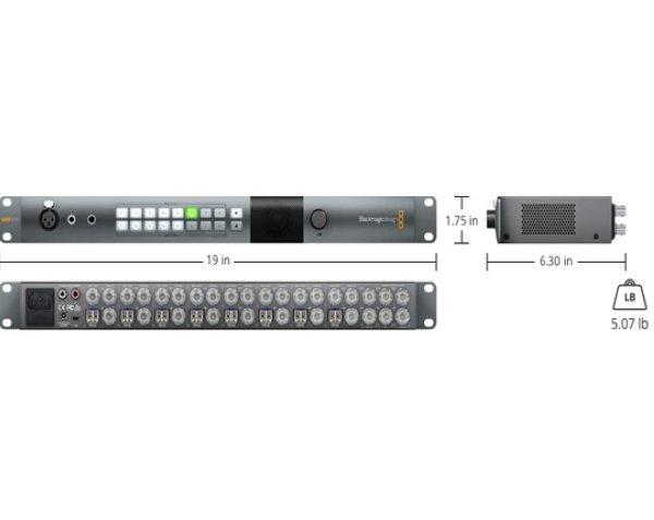 ATEM Talkback Converter 4K Blackmagic Design - Эфирные видеомикшеры ATEM