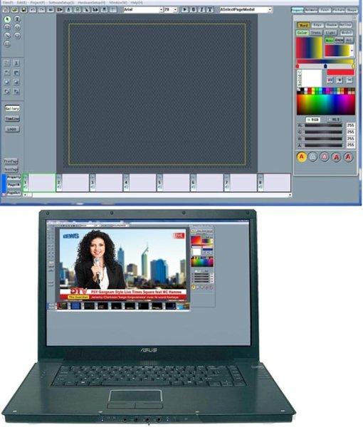CG-250 - Программа титрования datavideo - Datavideo