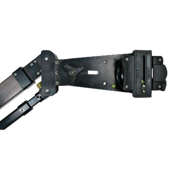 Cartoni J102- JIBO-миникран Портативный и универсальный 3-секционный миникран JIBO, нагрузка до 20 кг. Быстрый и легкий монтаж монтаж, может быть собран раз - J102