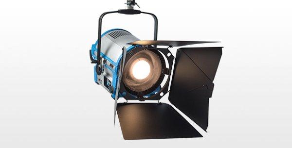 L10-TT Pole-Oper Blue Silver Bare Ends - LED светильник для подвешивания в студии - L10 - серия