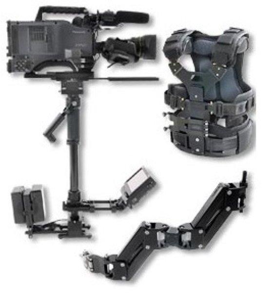 G-Force Advanced - система стабилизации, G-ForceAdvanced- новая система стабилизации высшего уровня от ABC Products для камер весом от 6кг до 14кг.Жилетнового образца