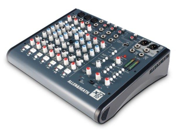 XB10 - пульт микшерный Микшерный пульт для телерадиовещания, 3 моно канала с функцией фейдер-старт , Telco канал для приема телефонных звонков, 3 стерео пары, star -