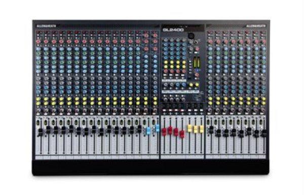 GL2400 432 - пульт микшерный Микшерный пульт 32 канала, 30 моно, 2 стерео, 6 AUX, 4 подгруппы, матрикс 7 х 4, Insert TRS Jack, Direct Output, 4-х полосный параметрик, вс -