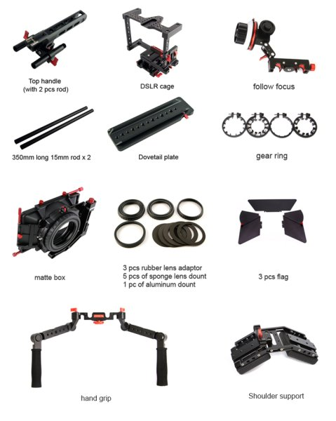 CAME-TV  DSLR Cage W  Hand Grip - риг для DSLR камер - Came-TV