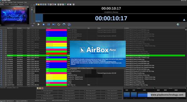 PlayBox Technology Ltd AirBox Neo AirBox Neo обеспечивает автоматизированное воспроизведение контента для спутниковых каналов, кабельных провайдеров, сотовым вещательным комп -