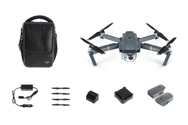 Квадрокоптер Mavic Pro Fly More Combo - DJI
