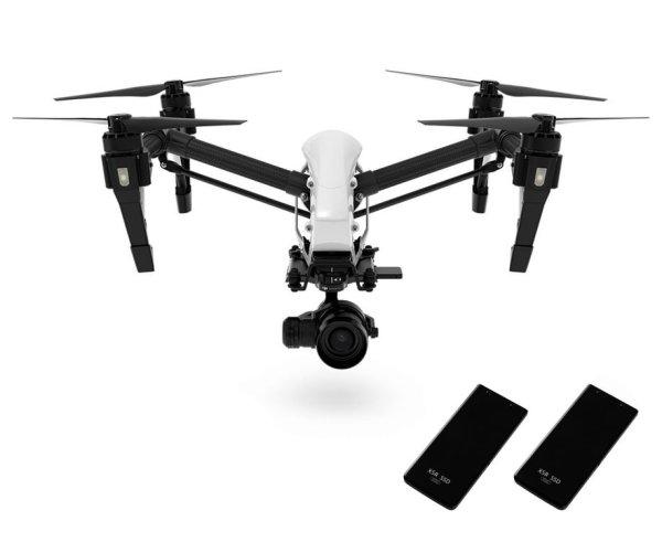 Квадрокоптер Inspire 1 RAW + 2 Extra SSDs (512G) - DJI