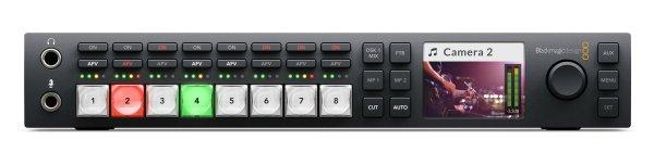 Blackmagic Design ATEM Television Studio HD видеомикшер позволяющий работать и с профессиональными и с бытовыми камерами. с поддержкой повторной синхронизации. Купить можно на сайте Опта