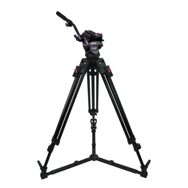 Cartoni FOCUS 8 2st. Alu. Gr. код KF08-2AG - штатив для съемки видео легкими камерами до 8 кг итальянского производителя Cartoni. Купить можно на нашем сайте.