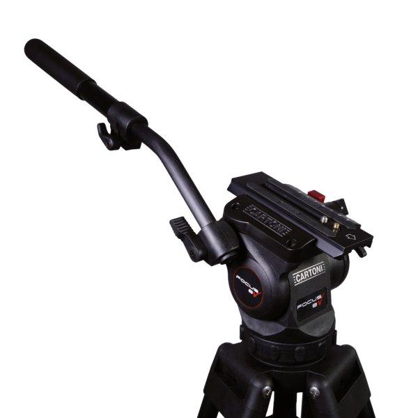 Ищите штатив Cartoni FOCUS 8 2st. Alu. Ml. код KF08-2AM? Тогда вы можете купить этот 3-звенный штатив для камер до 8 кг у официального представителя Cartoni в Украине ООО «ВТ «Опта»